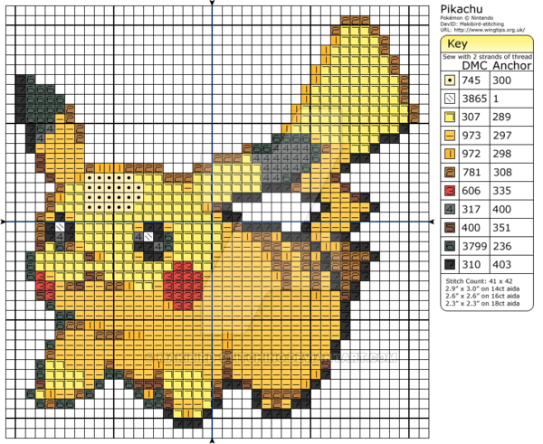 pokemon cross stitch - Google zoeken