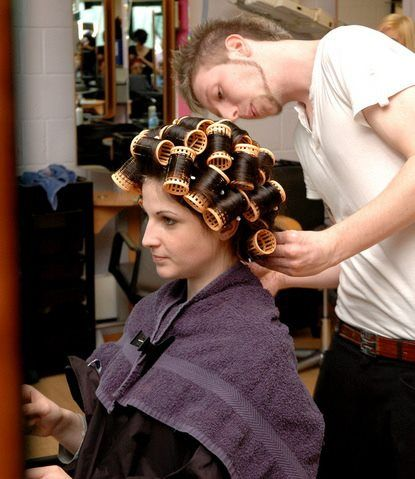 A Good And Patient Stylist Will Spend Time Making Sure Your Iffeminate Guy Is Curled Perfectly