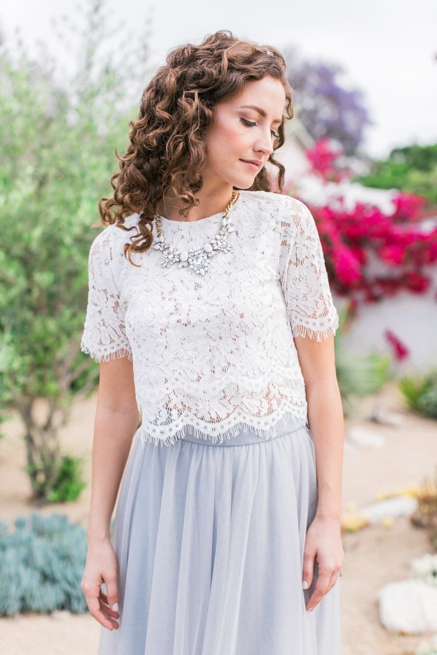 D 555413 Lace Top Outfits Bridesmaid Dresses Lace Top Lace Tops [ 1350 x 900 Pixel ]