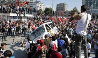 مقتل شخص في اشتباكات بين محتجين والشرطة التركية