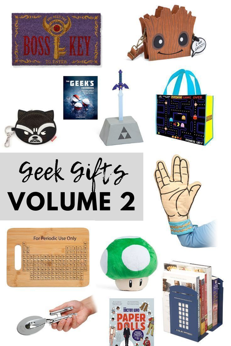 Geek Gifts: Volume 2 - EventOTB   Nerdy gifts for him
