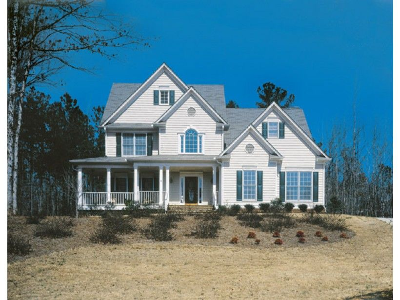 Country Style House Plan 4 Beds 2 5 Baths 2386 Sq Ft Plan 927 109 Country Style House Plans Craftsman House Plans House Plans