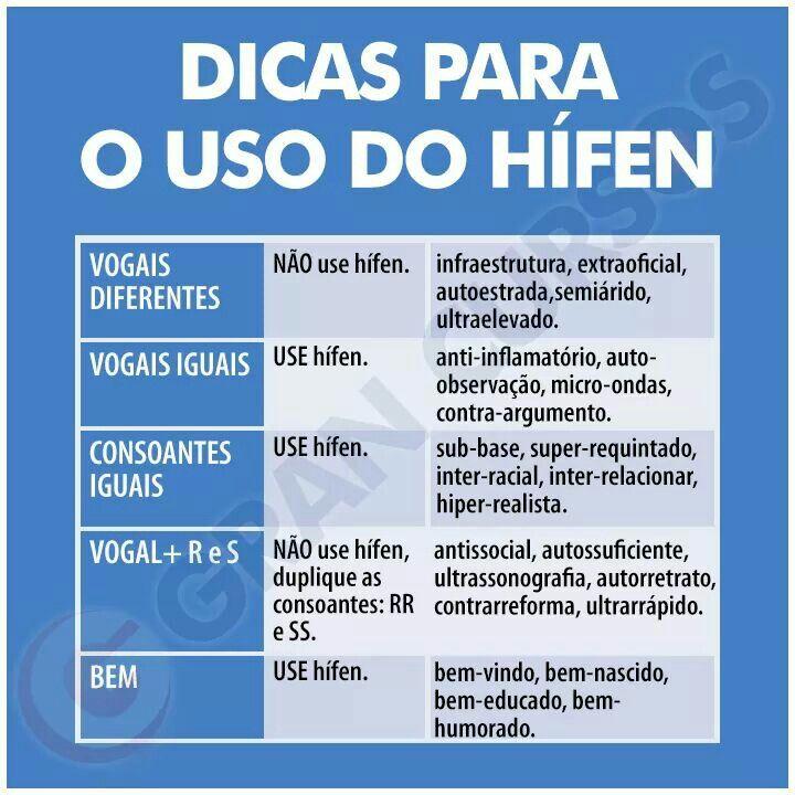 Preferência Dica de Português | 1000 PALAVRAS | Pinterest | Português  OQ11