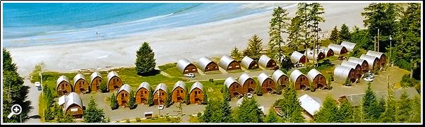 Ocean Village In Tofino Vancouver Island BC