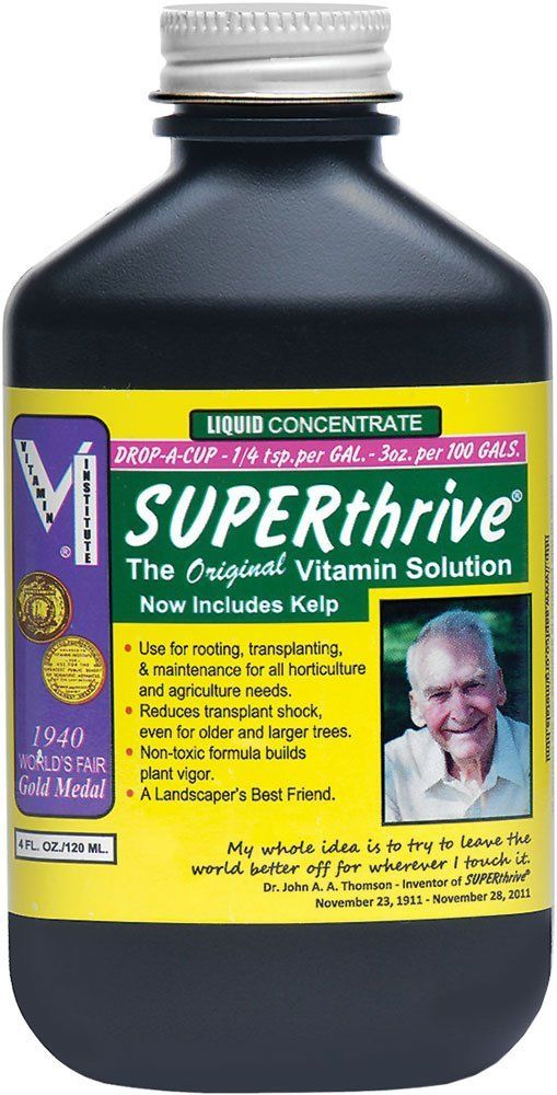 Amazon com : Superthrive Vitamin Solution, 4 fl  oz  : Patio, Lawn