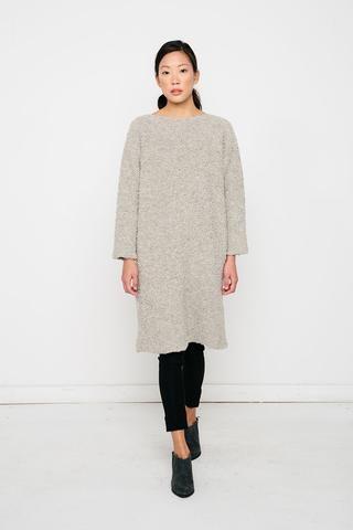 ba0651cb9054d Billie Sweater Dress in Textured Wool Alpaca – Elizabeth Suzann