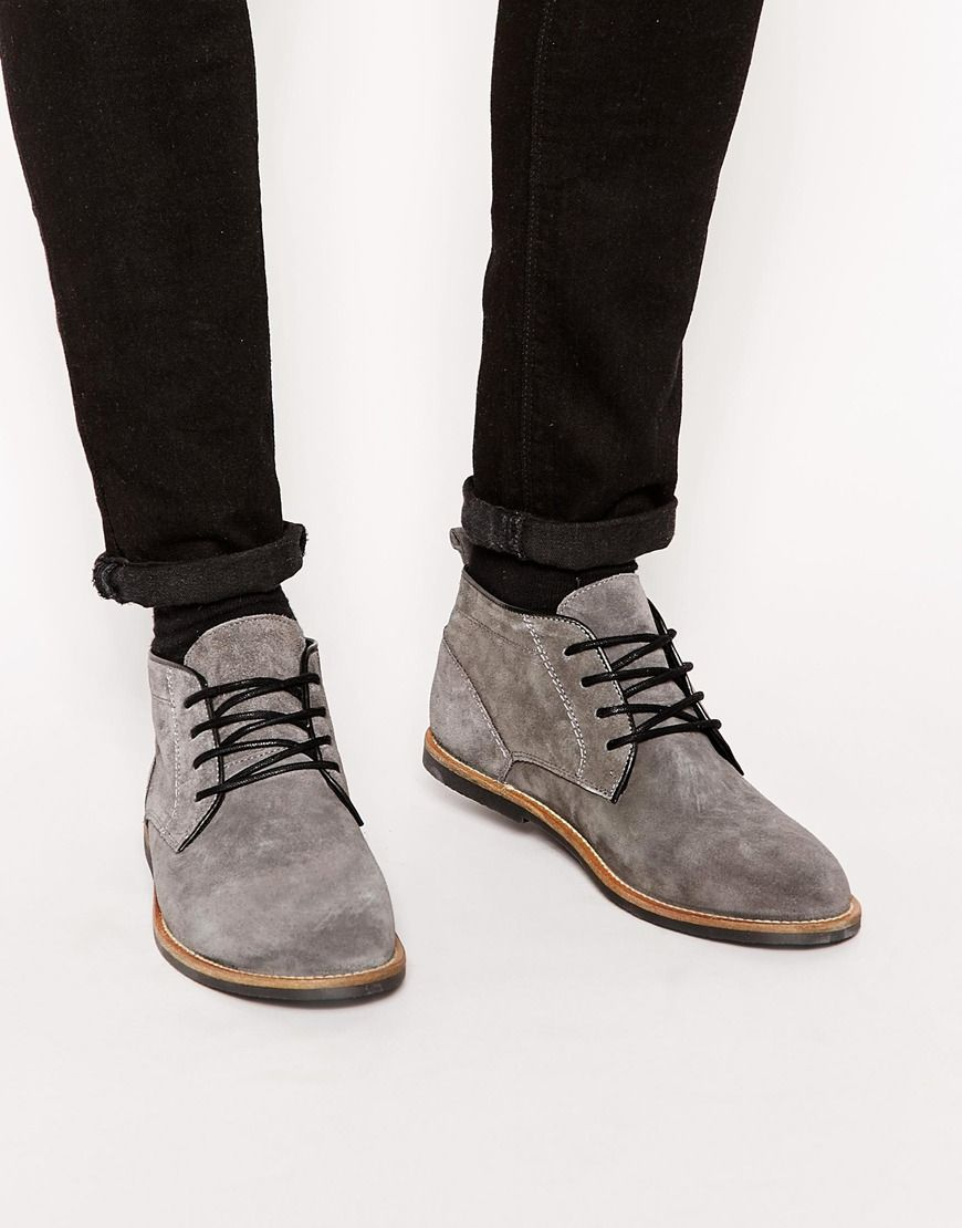 River Island Baker Desert Boots at asos.com