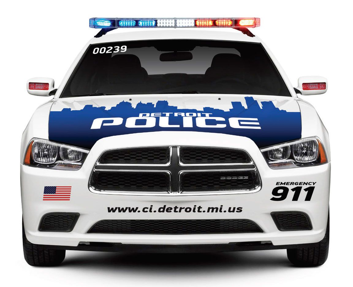 Look What The New Detroit Police Cars And Ambulances Will Look