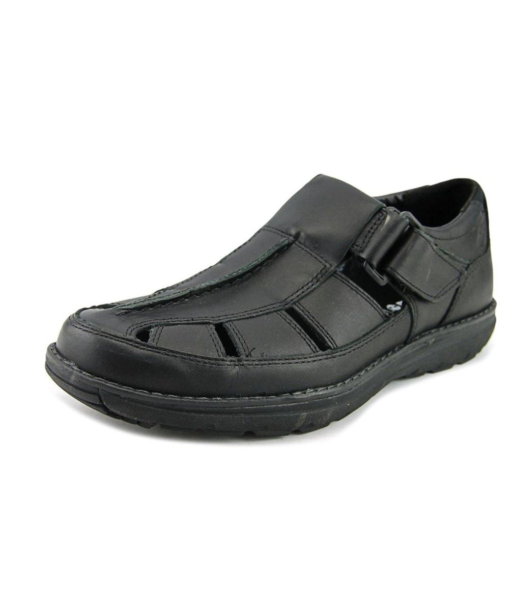 3c8dc531aa6b TIMBERLAND Timberland Barrett Park Men Round Toe Leather Black Fisherman  Sandal .  timberland  shoes  sandals