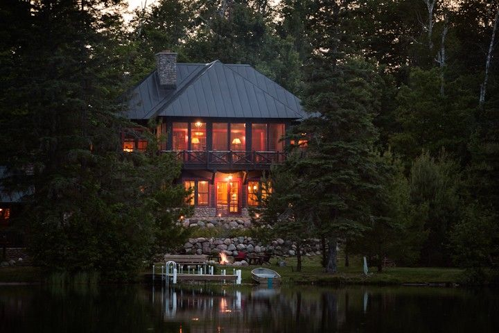 Star Lake Cabin Rental Star Lake Wisconsin Rental Homeaway Lake House Rentals Lake Cabins Lake Vacation