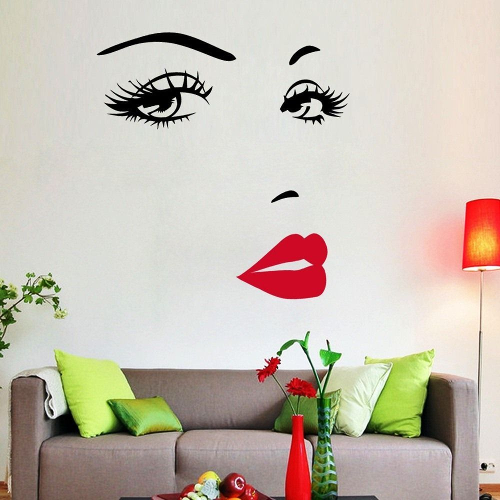 wallpaper dinding ruang tamu marlyn monroe dekorasi on wall stickers stiker kamar tidur remaja id=44383