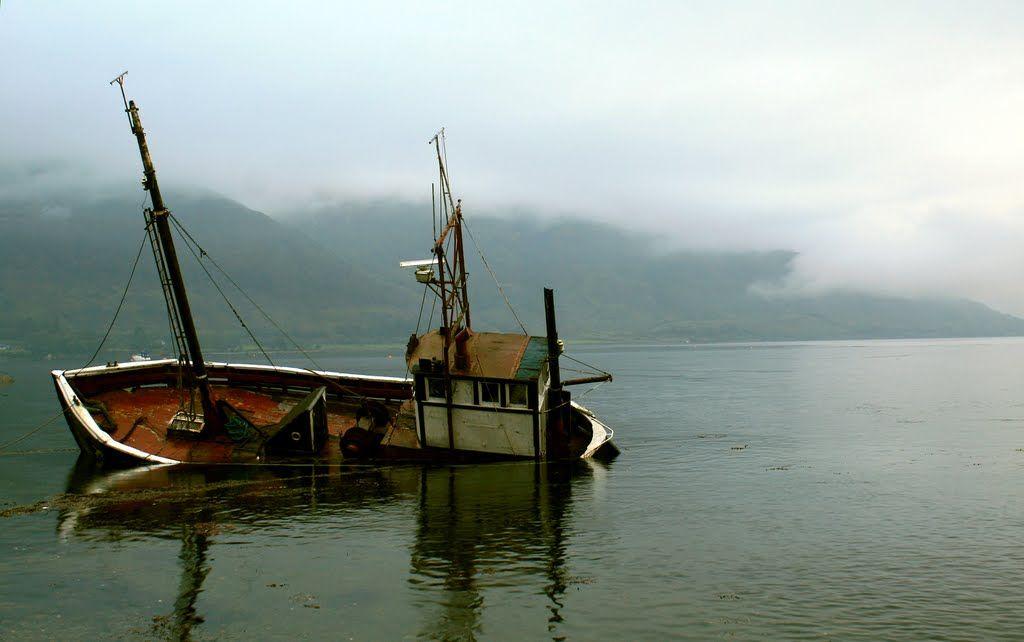 Play misty for me.  Sinking in Loch Linnhe