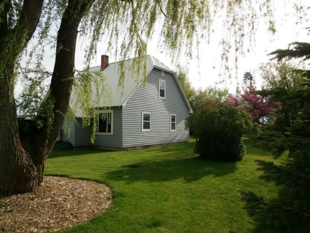 6.4 acre self sufficient ranch/farm located in Fairfield, Idaho.  Close to skiing, hiking, fishing, hunting and snow machining.  1.5 hours from Boise and 1 hour from Sun Valley airport.  Easy year around access!  Be on your own in Central Idaho!
