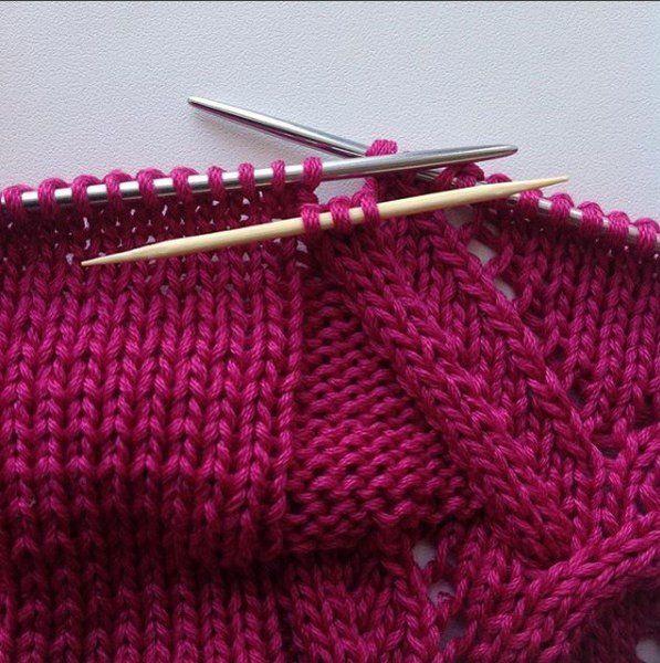 уроки вязание аранов