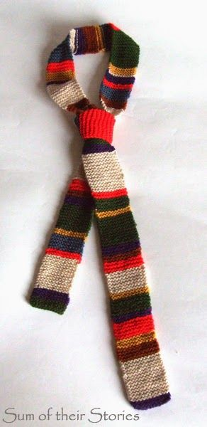 Doctor Who Knitted Tie Tie Pattern Patterns And Knitting Patterns