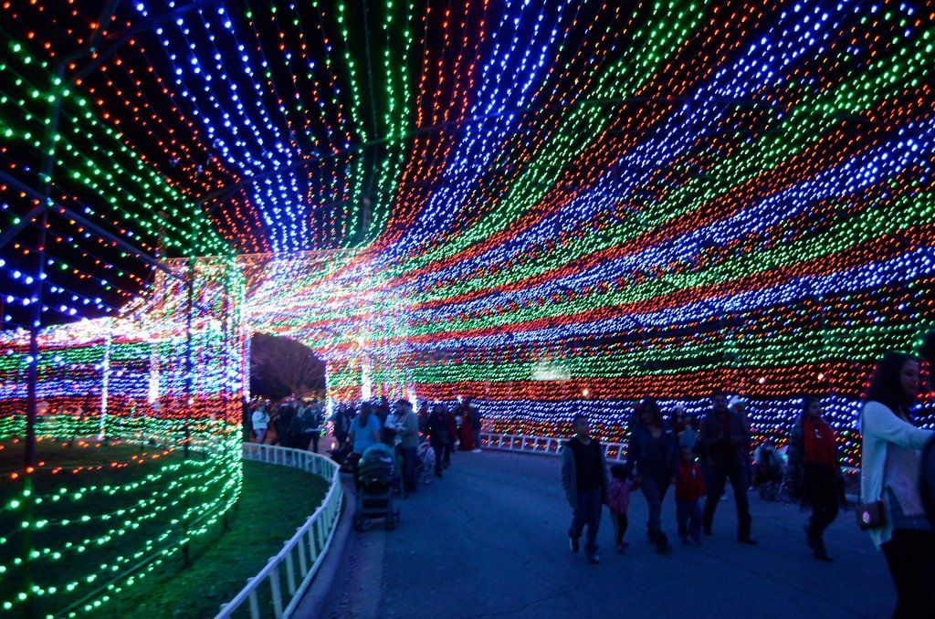 The 10 Most Spectacular Holiday Light Displays Across