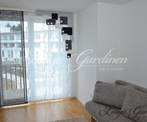 Wohnzimmer Gardinen nach Maß kaufen (mit Bildern