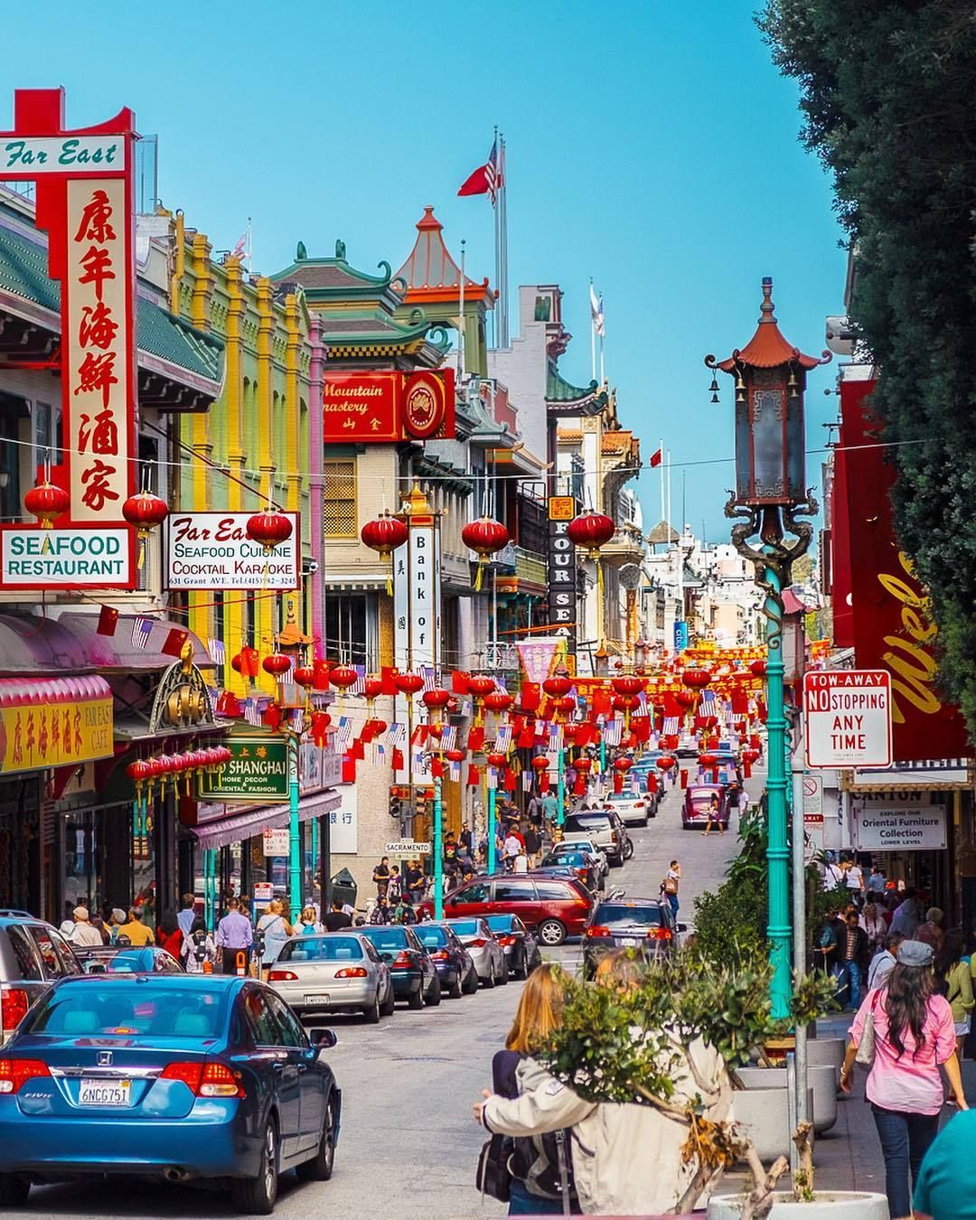 Chinatown San Francisco California by Krlis Dambrns