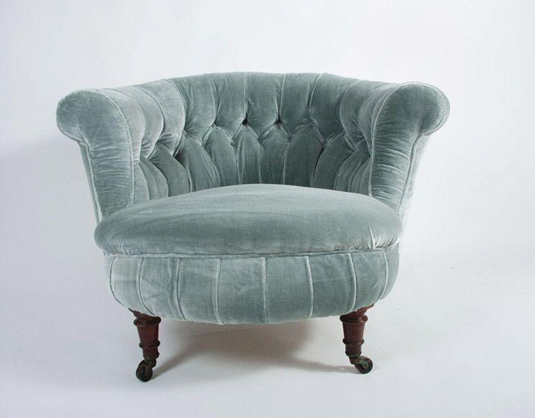 victorian velvet chair | for the home | Pinterest ...