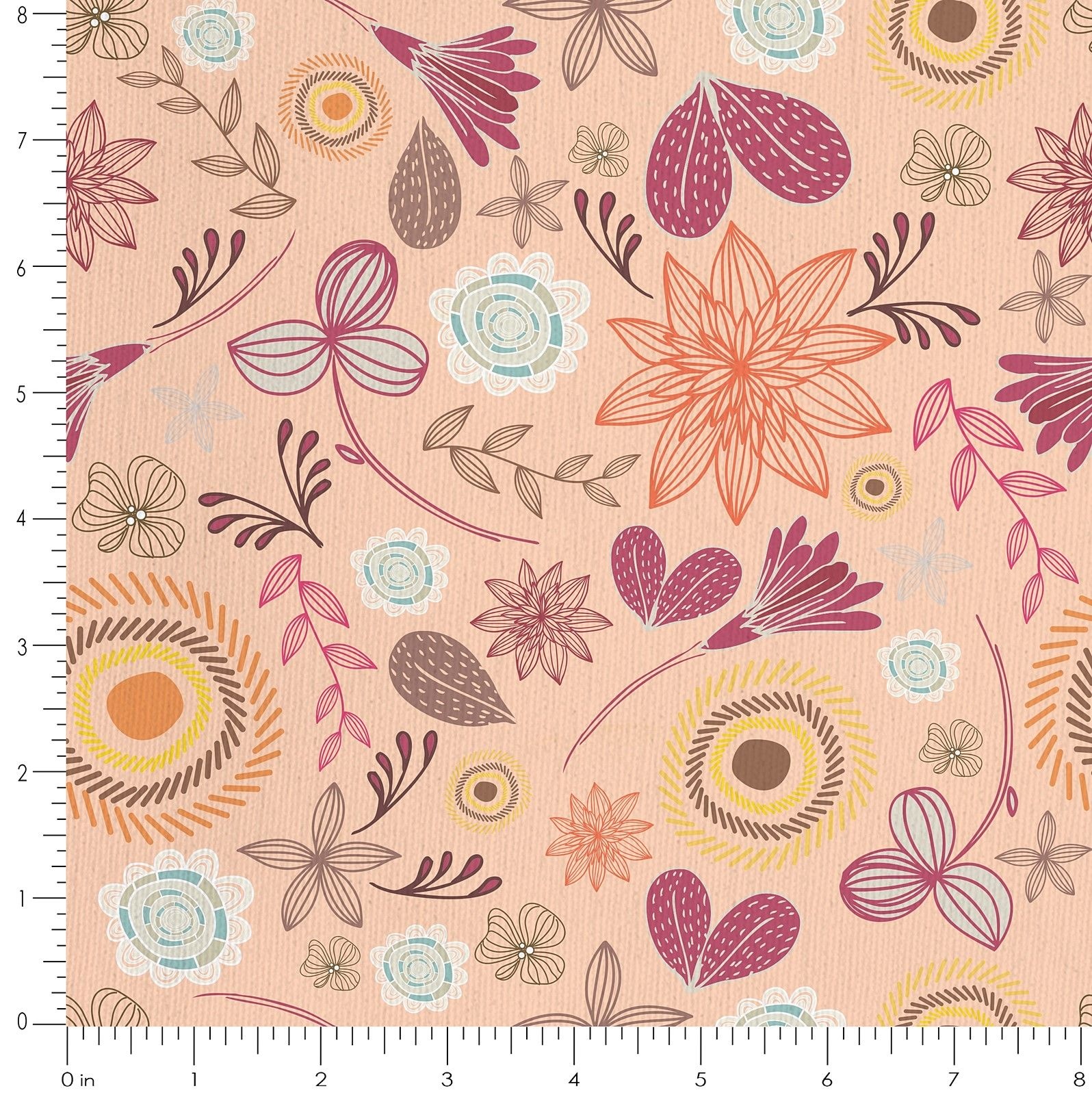 Buy Floral 100 Cotton Fabric For Sofa Curtains Cushions More Online India Online Floral 100 Cotton Fab Cushion Fabric Online Floral Painted Table Tops