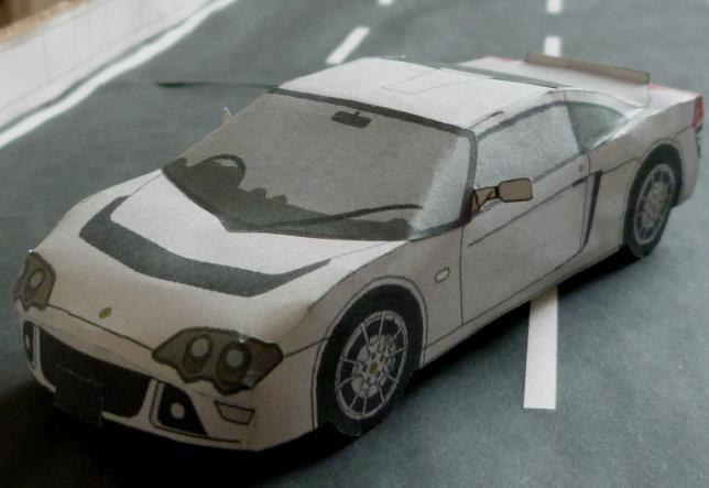 Papermau 2006s Lotus Europa S Paper Model By Fuzawa Arpeggio