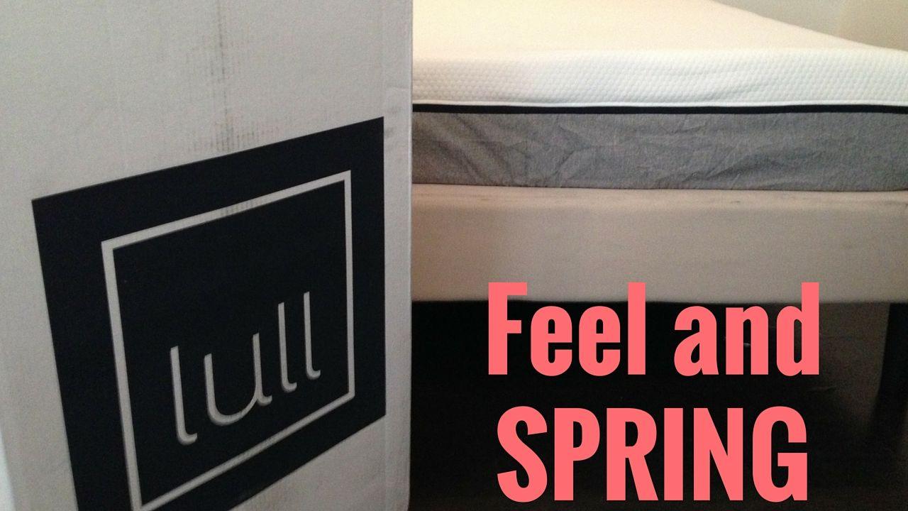 Lull Mattress Firmness And Spring Mattresses Reviews Lull Mattress Lull