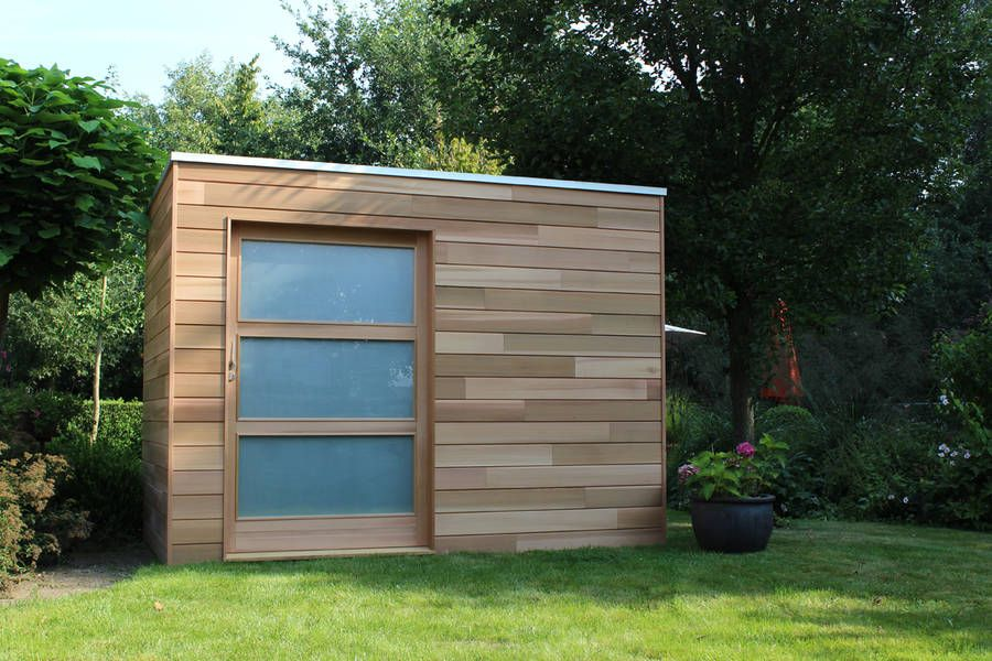 pin by rich kime on garages jardin contemporain abri de jardin jardins. Black Bedroom Furniture Sets. Home Design Ideas