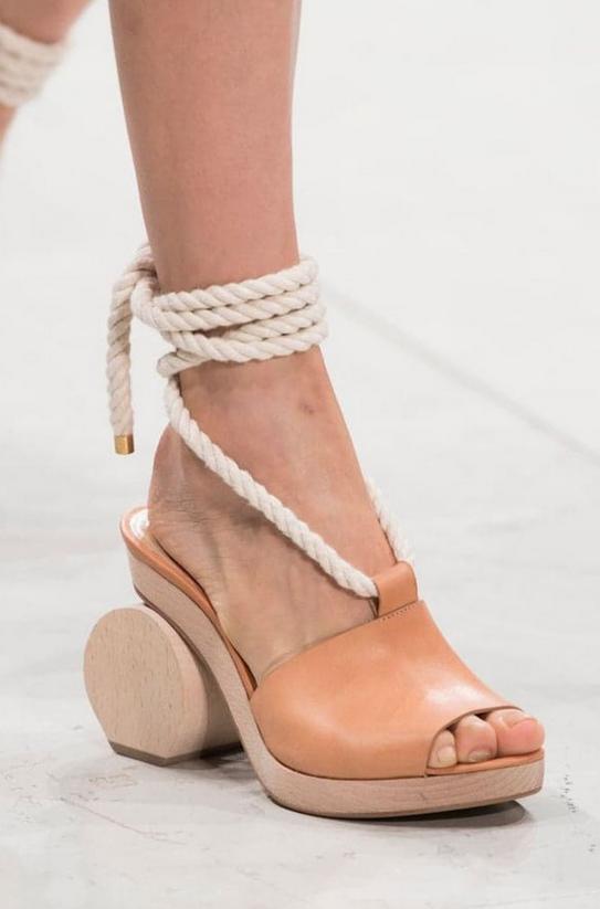 Der Sommer Trend 2019: Sandalen mit quadratischer Spitze