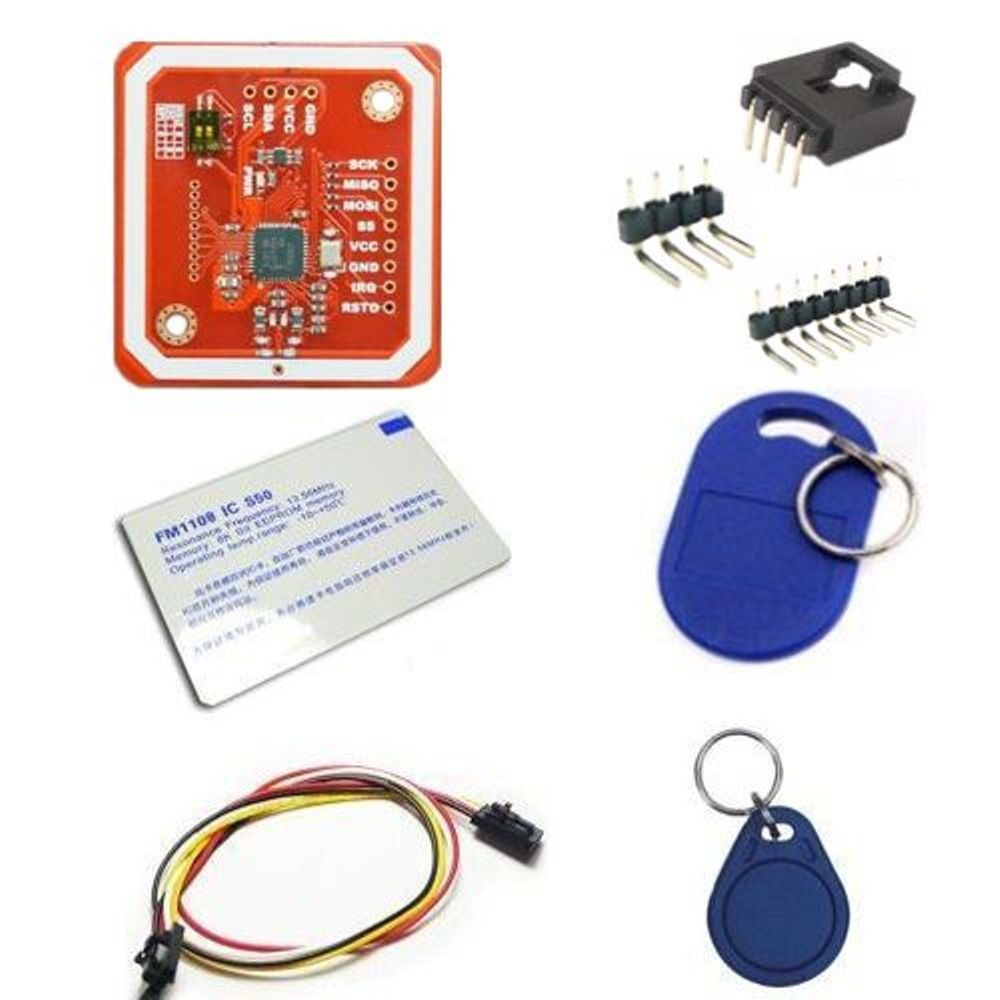 Pn532 Nfc Rfid Reader Writer Module V3 Support With Android Dog Repellent Ultrasonic Circuit 2 Electronicslab Phone 24