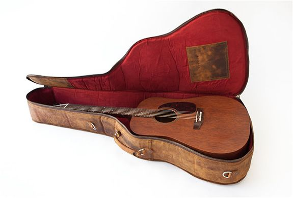 Vintage Leather Guitar Case Guitar Case Leather Guitar