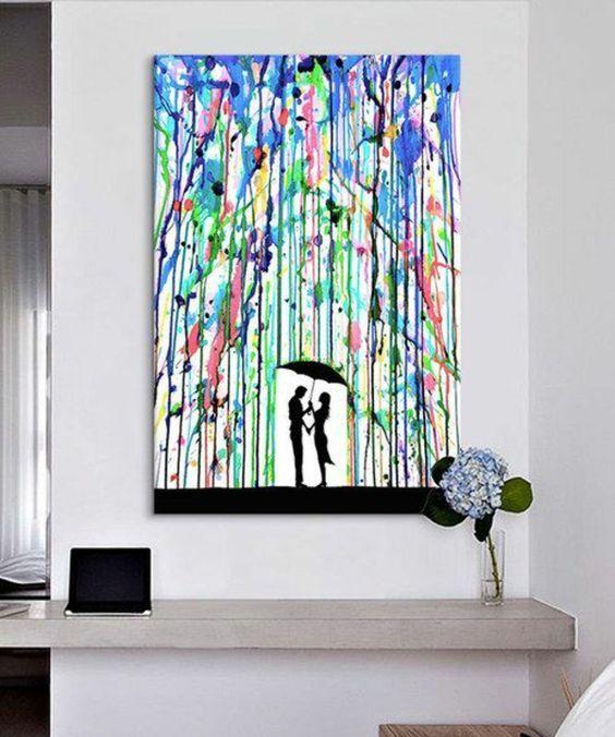 1001 ideen moderne leinwandbilder selber gestalten einrichten und wohnen pinterest. Black Bedroom Furniture Sets. Home Design Ideas