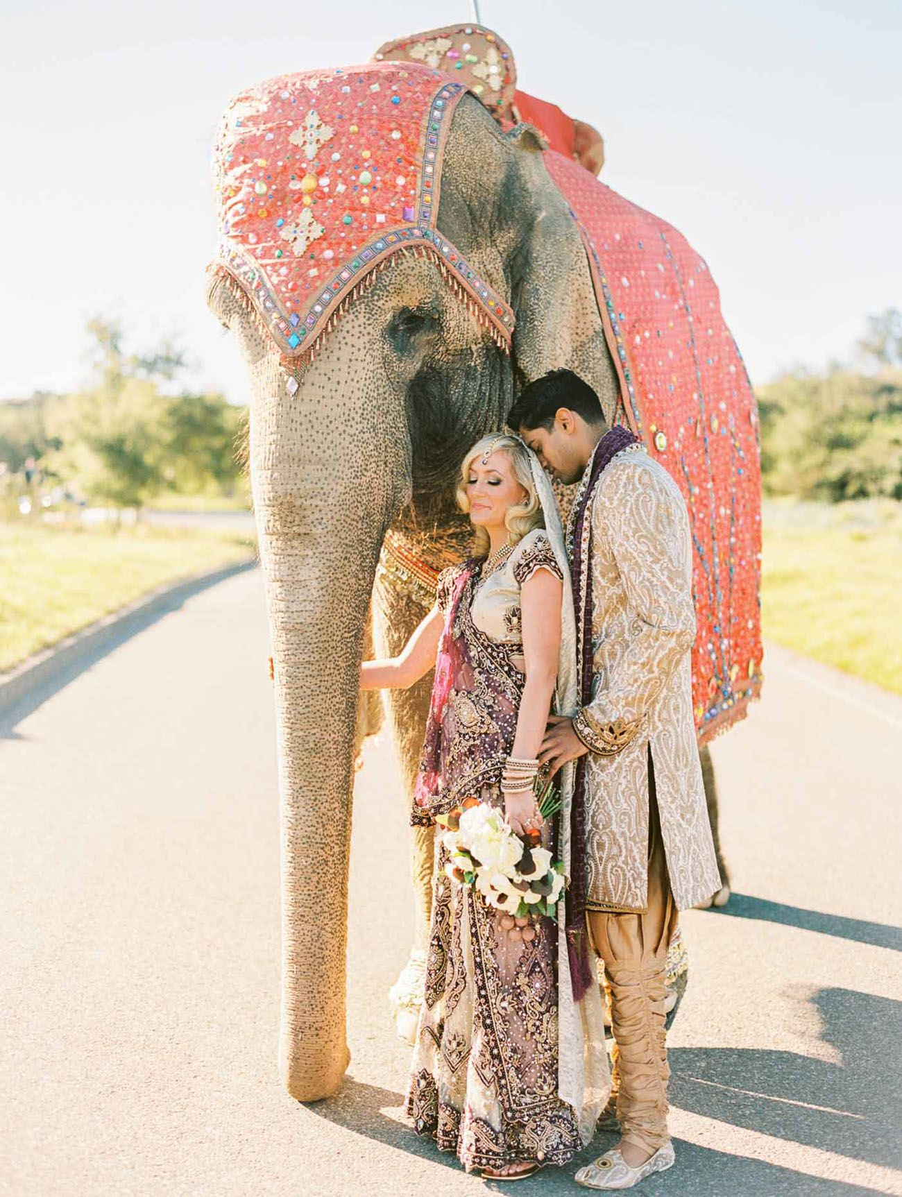 Bright colorful indian american wedding sarah sunny part