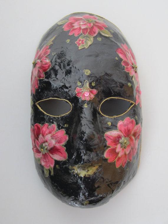 Mask  Venetian Mardi Gras Carnivale Style by CarolBeckDesigns, $40.00