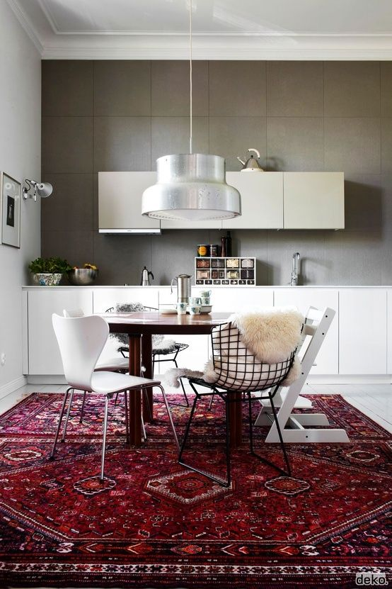 4 Colorful Rugs To Incorporate In The Dining Room