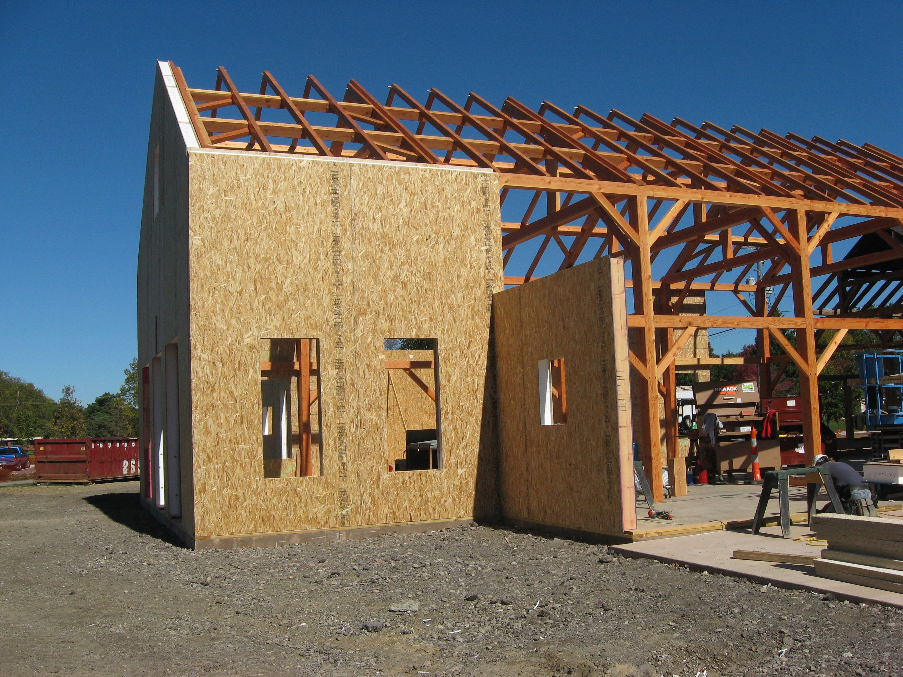 Lamit structural insulated panels sips on a new timber for Building with sip