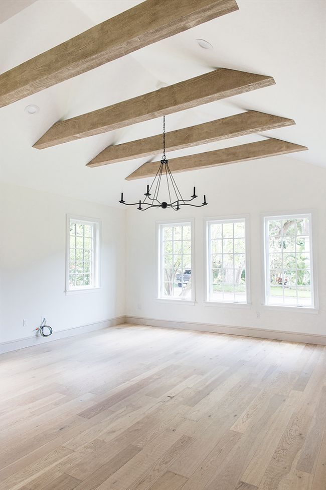 Photo of Faux Wood Beams: Heights House