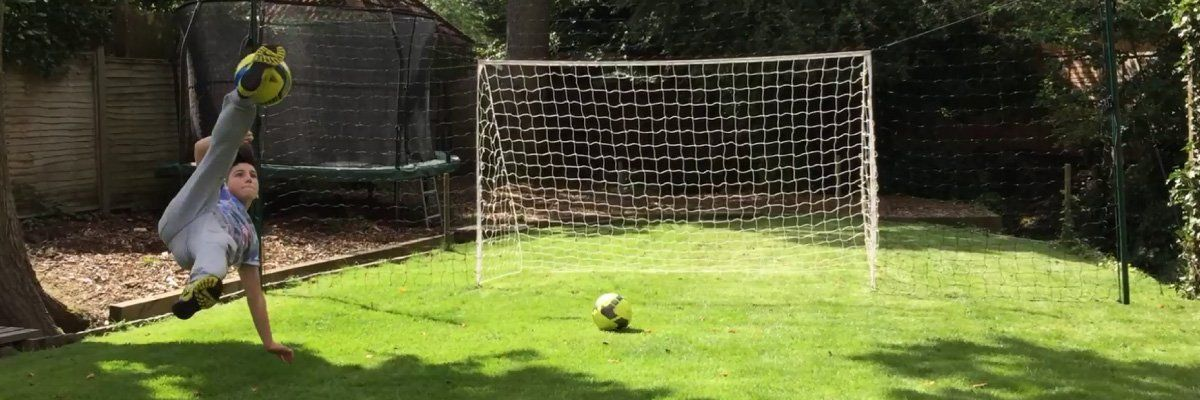 3a3b33bf3db Open Goaaal USA - Soccer Rebounder + Goal + Backstop ALL IN ONE ...
