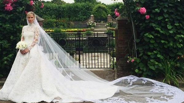 boda de nicky hilton y james rothschild   bodas famosos - hoy & ayer
