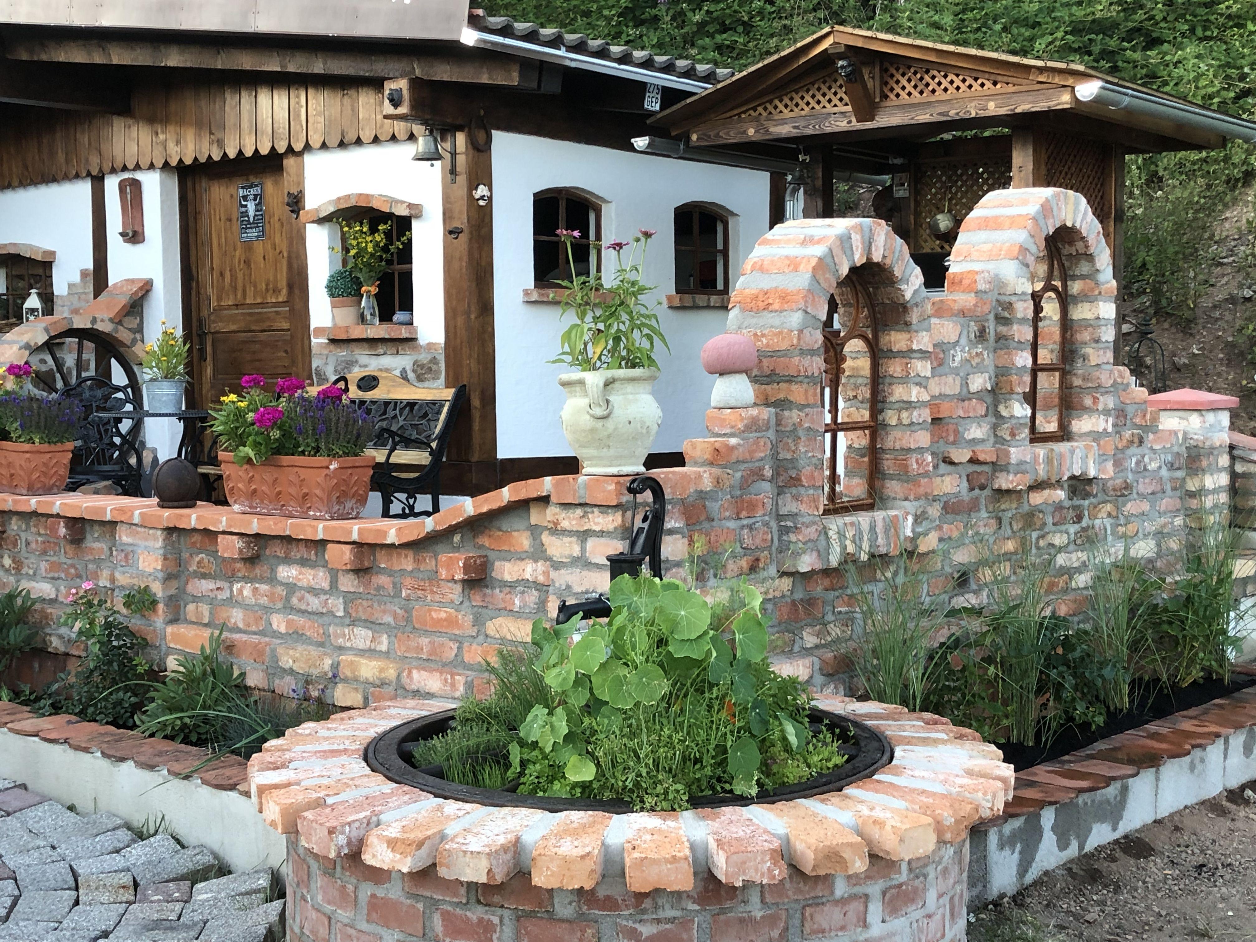 Gartenhausgestaltung Stone Cottages Patio Garden