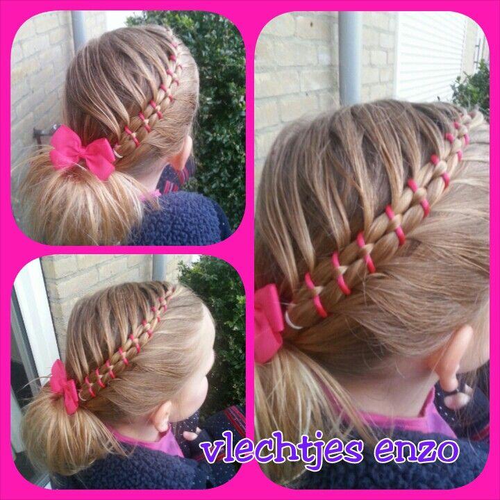 A Figure 8 Braid With 4 Strands Hairstylesforgirls Hairstyles