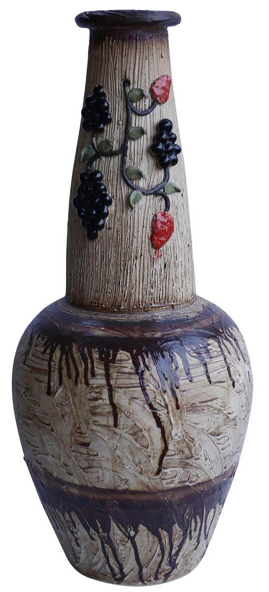 Bulk Wholesale Earthen Pot Shaped Rustic Handmade Ceramic Vase