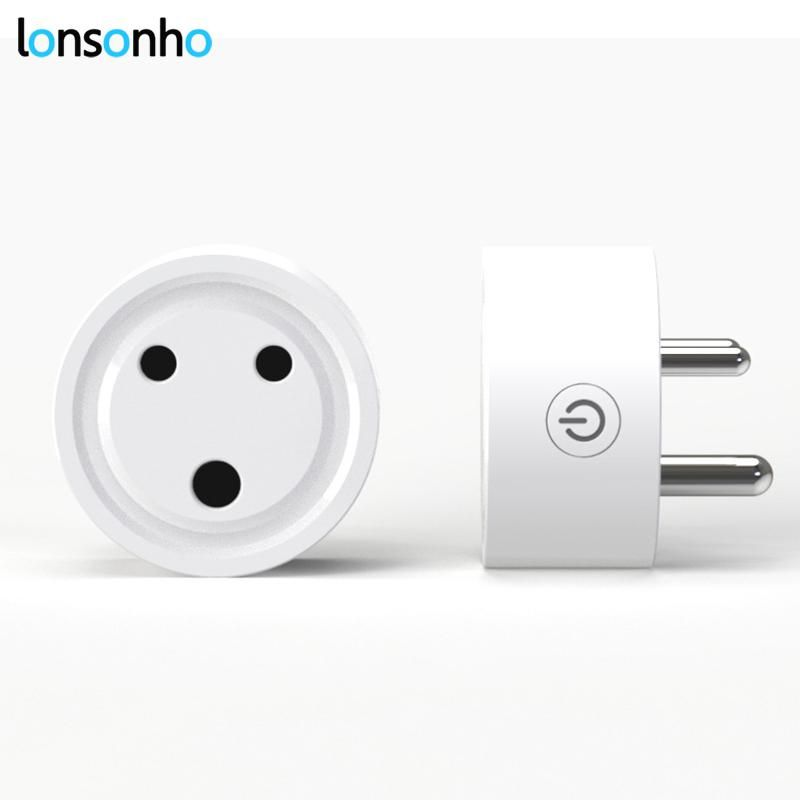 Wifi Socket Smart Plug In India Outlet Wireless Control Smart Home Timer Energy