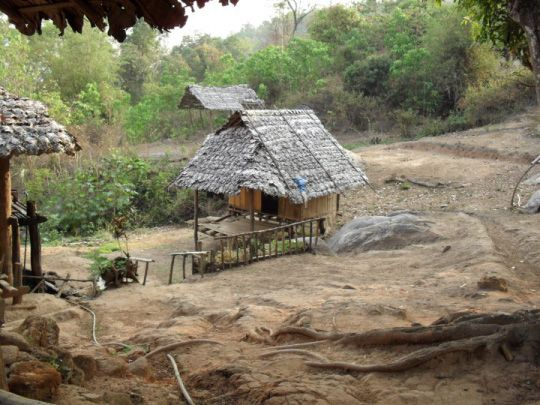 Chang Mai Hill top tribe