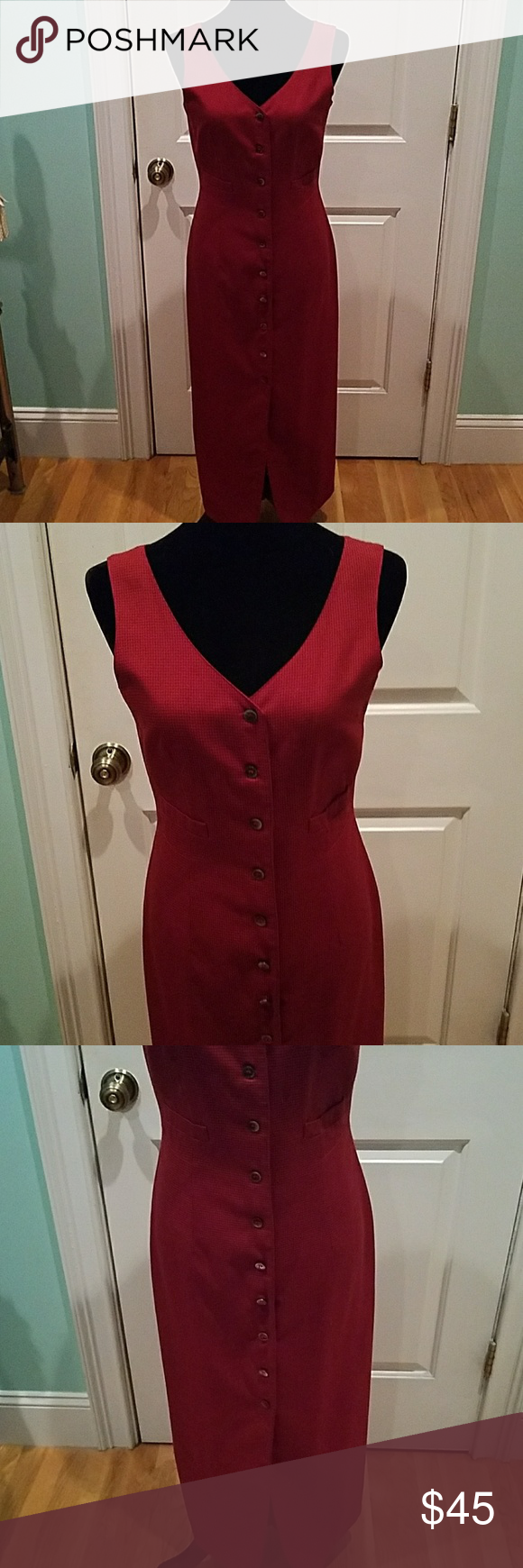 Us esprit maxi vest plaid dress Pinterest