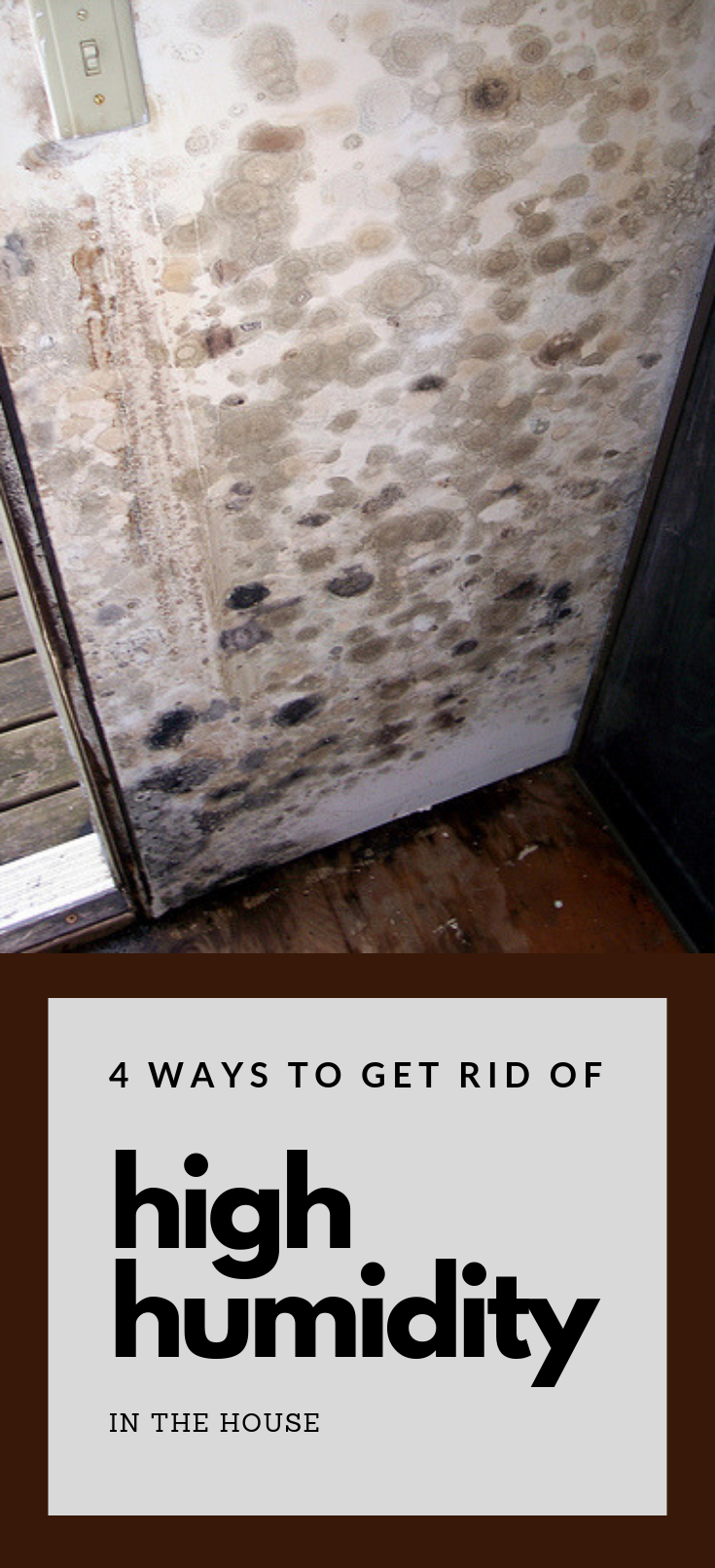 4 Ways To Get Rid Of High Humidity In The House Cleaning Homemade Shower Cleaner Cleaning Hacks