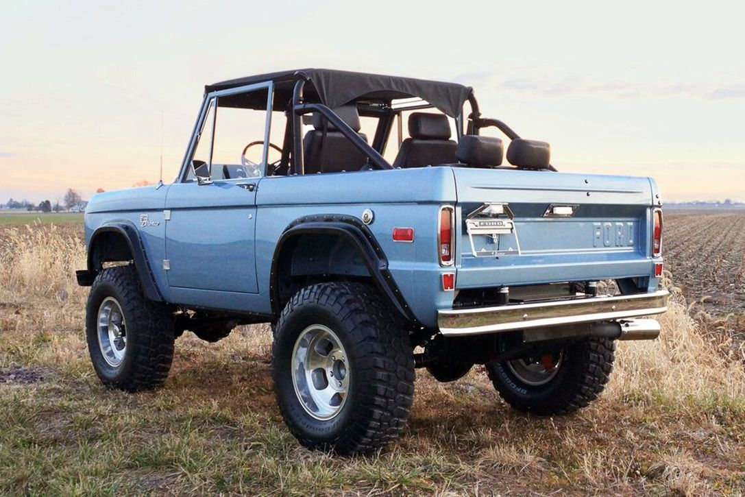 The 1974 Ford Bronco Warrior Edition Is A 435 Hp Testament To