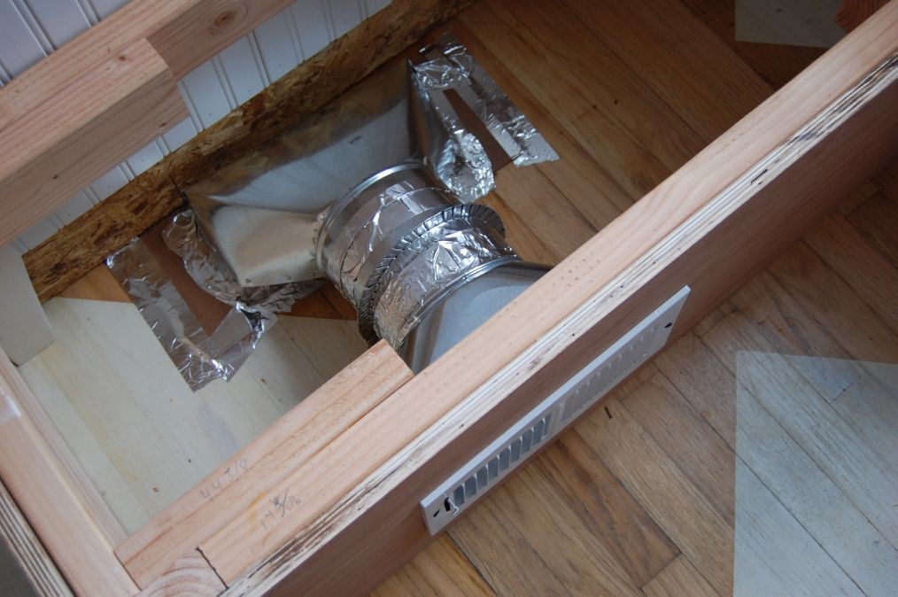 When Building A Bench Over A Vent Diy Home Improvement Diy Dream Home Home Projects