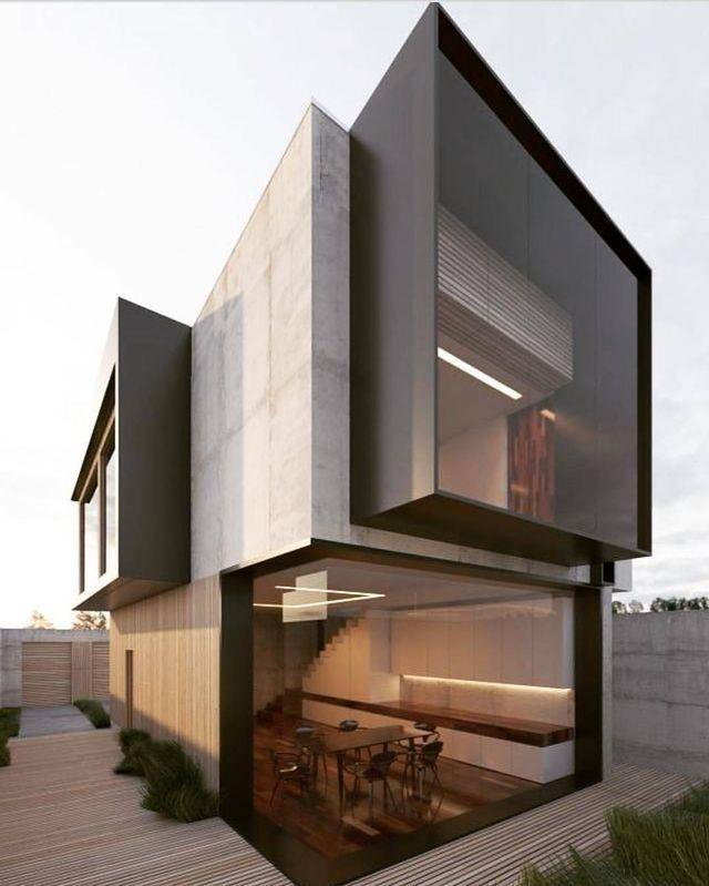 Photo of Breite Glasfenster, betonierte Wände, kontrastschwarze Rahmen – Heidrun Reusch Akademie – Picbilder- Wir Für Bilder