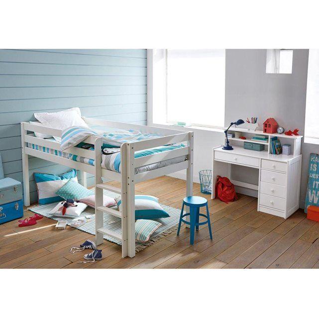 lit sur lev mirka chambre iris lit sur lev lit et espace au sol. Black Bedroom Furniture Sets. Home Design Ideas