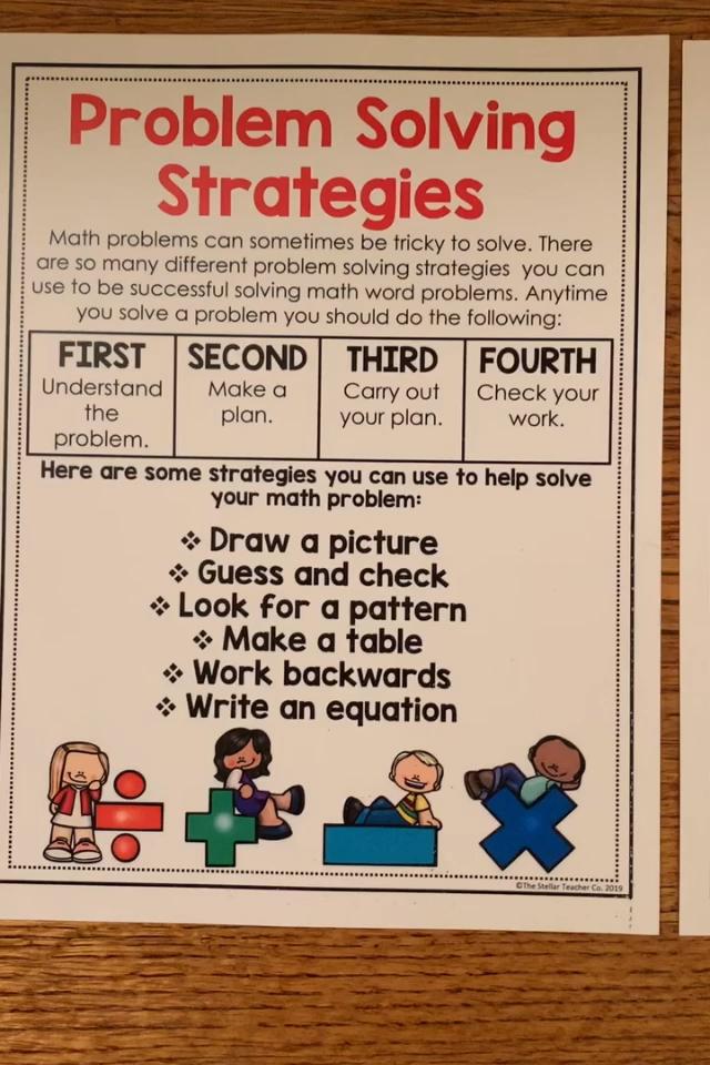 Language Arts Word Problem Worksheets 1st Grade Word Problems For Grade 3 Maths Works Problem Solving Strategies Word Problem Strategies Math Word Problems
